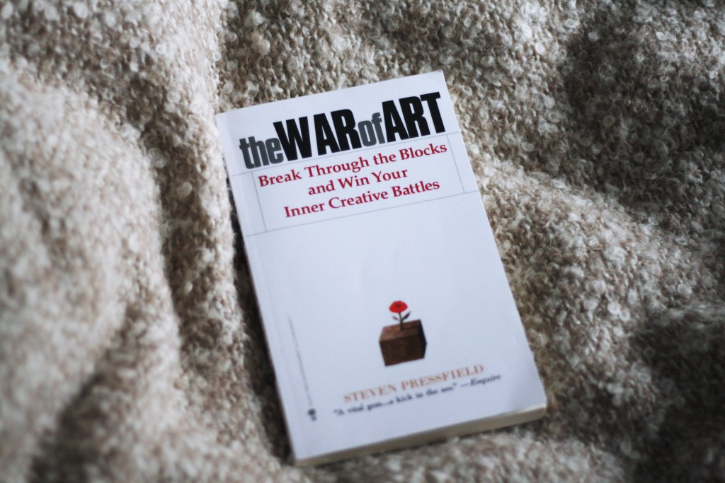 zelfhulpboeken the war of art